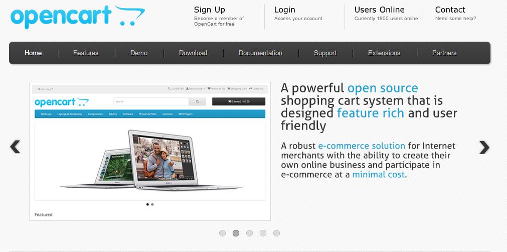 Как создать интернет магазин на opencart