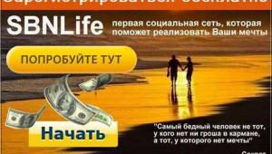 социальная сеть SBNLife